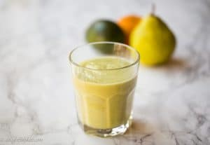 avocado clementine smoothie