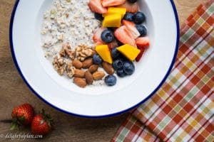 Overnight oat chia seed