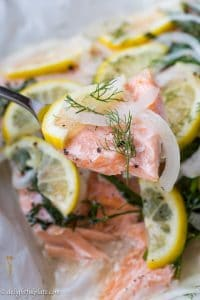 Silky slow baked salmon