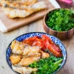 Vietnamese Fried Fish Vermicelli Noodle Soup (Bun Ca)