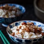 Steamed Peanut Sticky Rice (Xoi dau phong/Xoi lac)