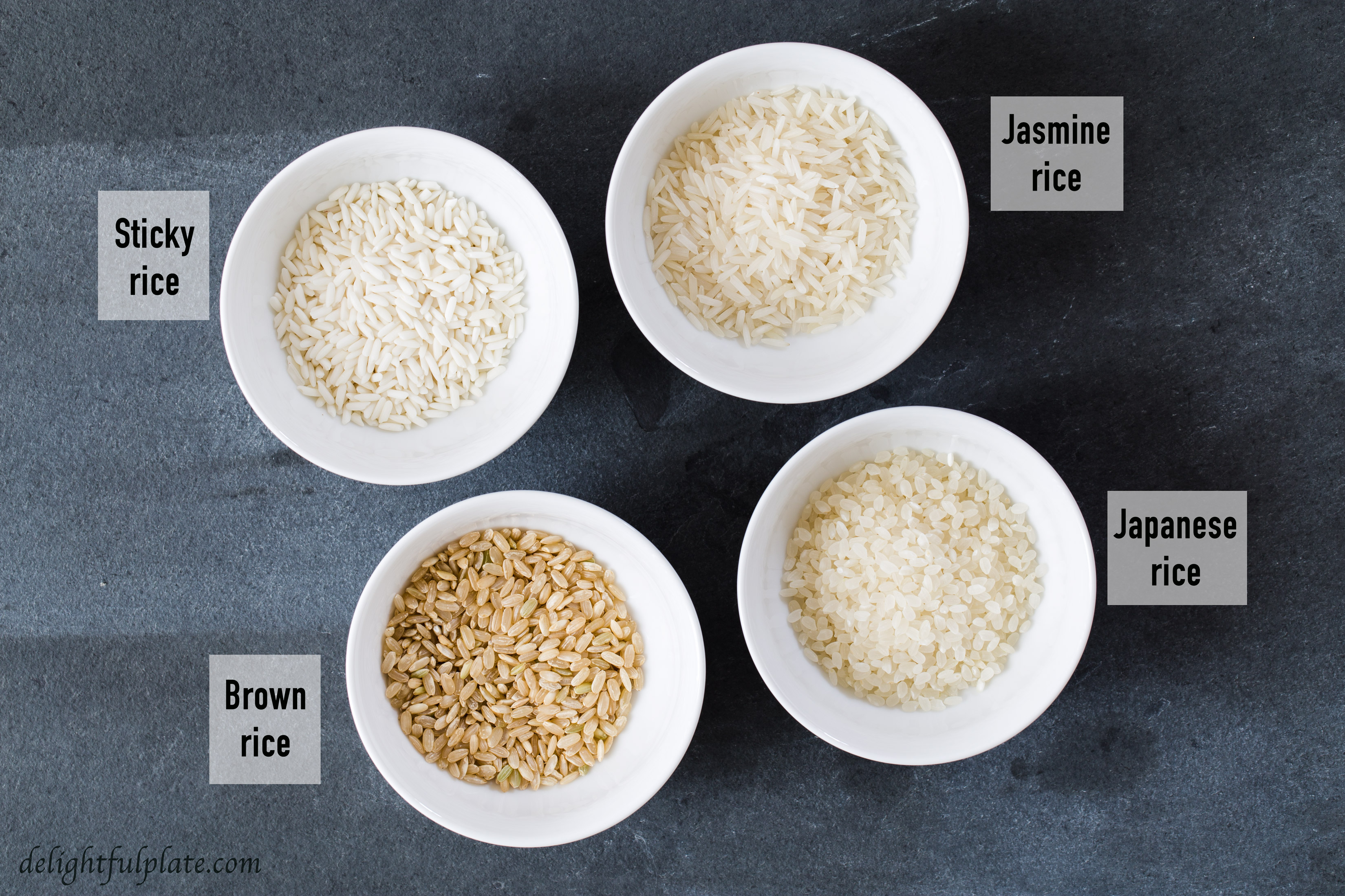 Rice for rice porridge (congee)