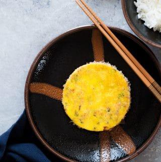 Vietnamese Egg Meatloaf (Cha Trung)