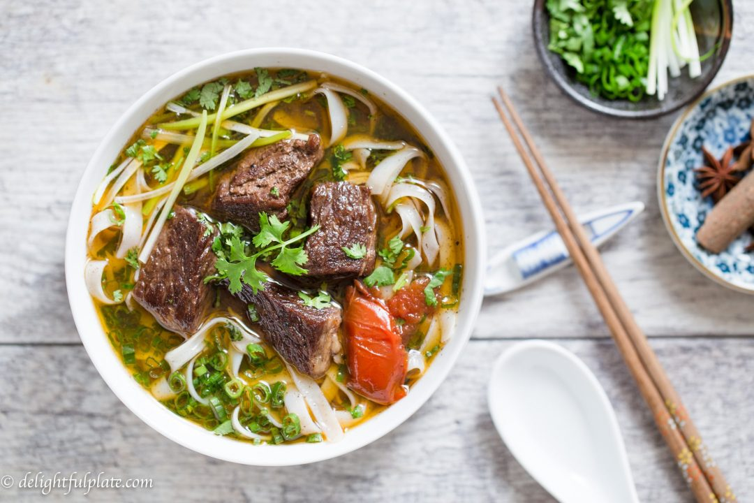 Vietnamese Beef Stew Pho Noodle Soup Recipe | We've scoured the internet for some of the best Instant Pot Recipes, and found an amazing assortment! You'll love these handpicked Instant Pot recipes, | Homestead Wishing, Author Kristi Wheeler | https://homesteadwishing.com/instant-pot-recipes/ | instant-pot-recipes #instantpotrecipes #recipes #pressurecookerrecipes #pressurecooker