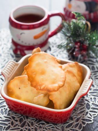 Almond Tuile Cookies