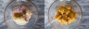 Marinate Vietnamese turmeric fish