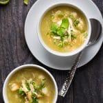 Seafood Opo Squash Soup
