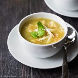Seafood Opo Squash Soup is a healthy and delicious soup which can be made in less than 30 minutes.