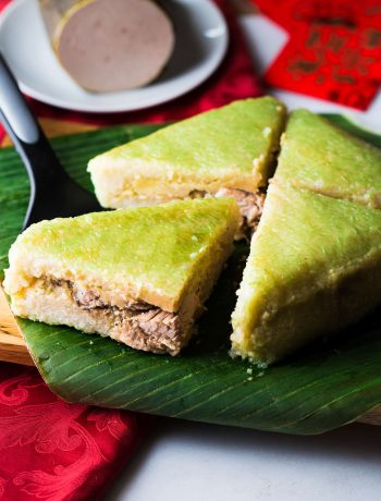 Vietnamese Square Sticky Rice Cake (Banh Chung or Chung cake) is a must-have in the Lunar New Year celebration of Vietnam. Despite being from simple ingredients, this traditional cake tastes wonderful and holds beautiful cultural meaning in it.