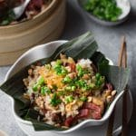 Steamed Chicken Sticky Rice