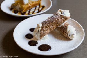 Cannoli at Anthonino's Taverna on the Hill - St. Louis
