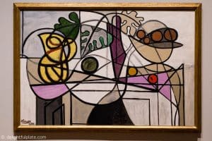 Pitcher and Fruit Bowl painting by Picasso at St. Louis Art Museum