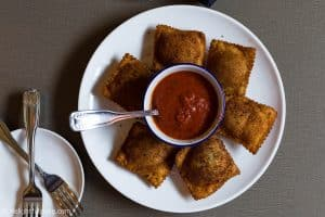 Toasted Ravioli at Anthonino's Taverna, the Hill, St. Louis