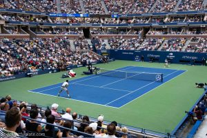 Corner courtside view - Cilic vs Nishikori US Open Tennis Ticket 2018