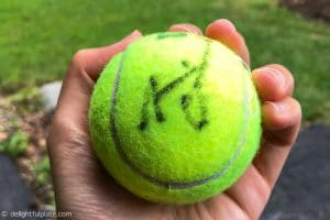 Naomi Osaka's autograph - US Open 2018