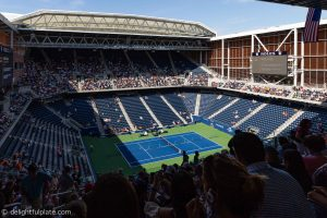 US Open new Louis Armstrong stadium
