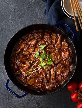 Vietnamese Sweet and Sour Pork Ribs (Suon Xao Chua Ngot)