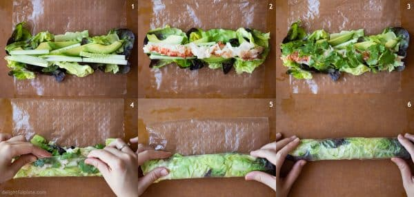 How to wrap lobster fresh spring rolls. Also how to wrap Vietnamese fresh spring rolls.