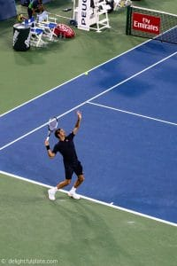 Federer at Western & Southern Open 2018