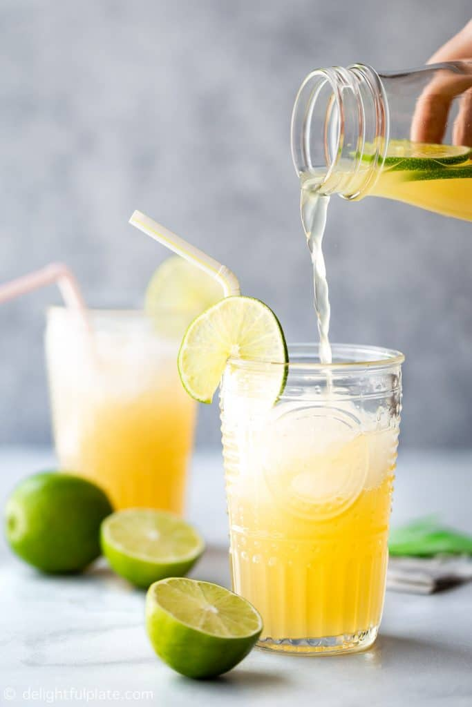 Vietnamese Lime Iced Tea (Tra Chanh Hanoi)