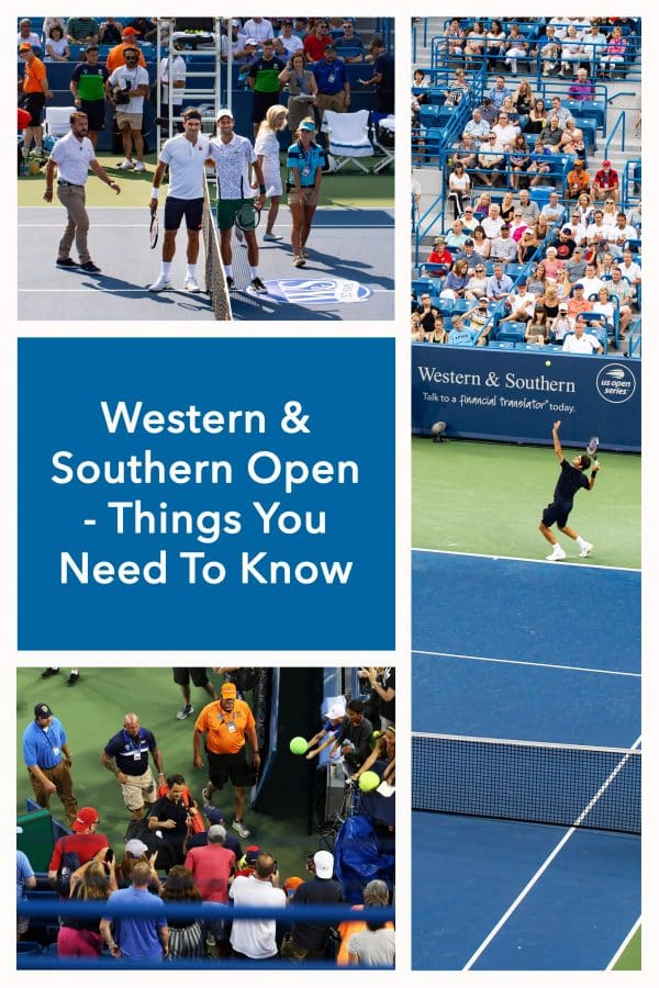 Western & Southern Open (Cincinnati Masters) - Things You Must Know. All important tips to enjoy the W&S Open, from which seats to buy, where to stay, where to park and what to eat.