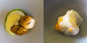 Must try restaurants - Jungsik Seoul (abalone and scallops)