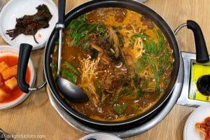 Seoul Food Travel Guide - Must Eats - Gamjatang