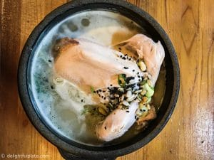 Seoul Food Travel Guide - Must Eats - Samgyetang
