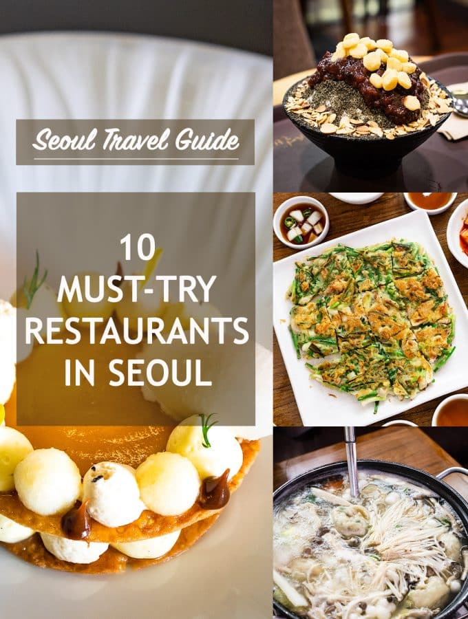 10 Must-Try Restaurants in Seoul: From Casual to Fine Dining