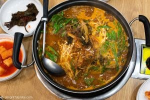 Seoul Food Travel Guide - Must try restaurants - Onedang gamjatang
