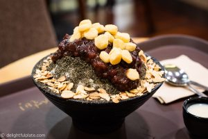 Seoul Food Travel Guide - Must try restaurants - Sulbing cafe