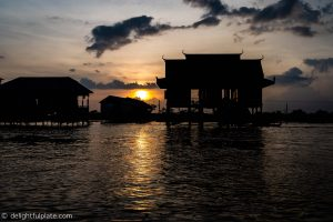 Must See in Siem Reap - Sunset on Tonle Sap lake