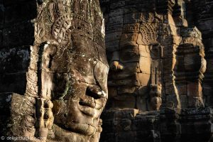 Must see in Siem Reap - Smiling stone faces at Bayon temple