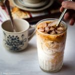 Vietnamese Yogurt Coffee (Sua Chua Cafe) is a tasty drink that is rich and creamy with an addictive aroma and bitterness from coffee. Very quick and easy to make and you will get your caffeine fix as well as yogurt health benefits from this drink.