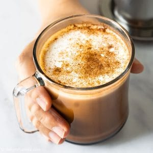 Easy homemade mocha with Vietnamese coffee, strong, aromatic and tasty!