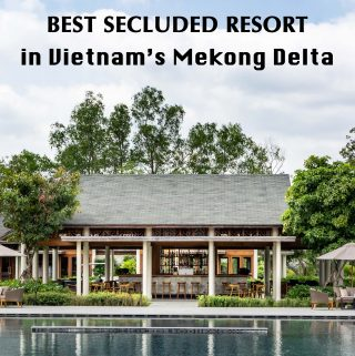 Azerai Can Tho review - best secluded resort in Vietnam's Mekong Delta. Whether you need a break from city life or a base for exploring Mekong Delta, this is the perfect place to stay.