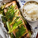Ginger Salmon in Foil Packets