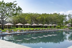 Azerai Can Tho Review - Pool and Banyan Trees
