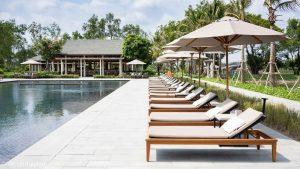 Azerai Can Tho pool area