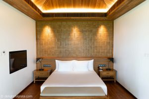 Bedroom review at Azerai Can Tho
