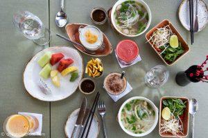 Breakfast at Azerai Can Tho