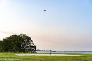 Azerai Can Tho activities: kite-flying