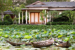 Lake-view room at Azerai Can Tho