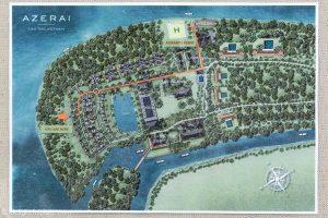 Map of Azerai Can Tho