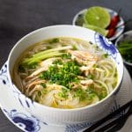 Authentic Pho Ga (Vietnamese Chicken Noodle Soup)