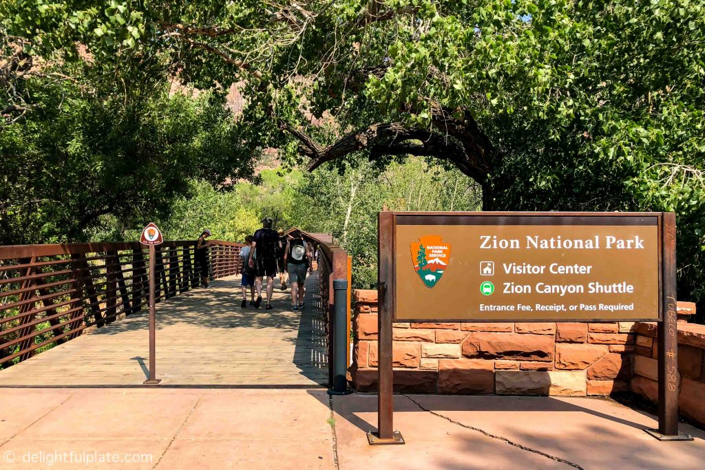 Zion National Park gate