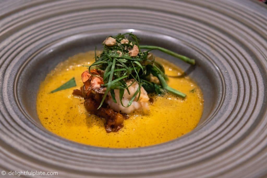 Mekong Langoustine Soup by Chef Joannès Rivière of Cuisine Wat Damnak