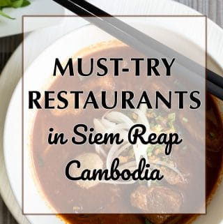 Must try restaurants Siem Reap