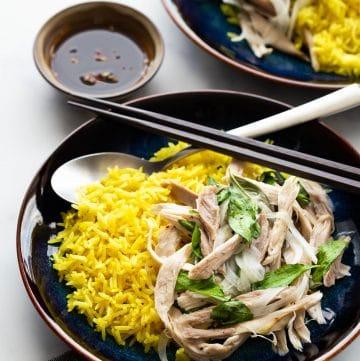 Vietnamese Chicken Rice (Com Ga Hoi An)