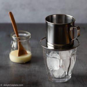 Brew Vietnamese Iced Coffee Step 1